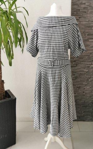 Petticoat Dress black-grey