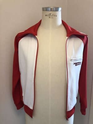 Adidas Originals Sports Jacket red-white polyester