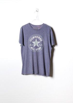 Converse T-shirt szary Bawełna