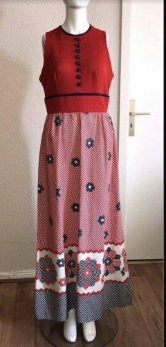 Retro Vintage Kleid Wendy ca 40 42 Sommerkleid Maxikleid Lang