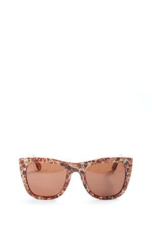 Retrosuperfuture Gafas Retro marrón-crema look casual