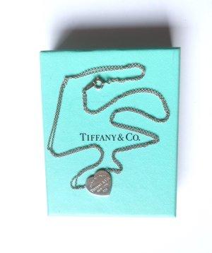 Tiffany&Co Catena d'argento argento-azzurro