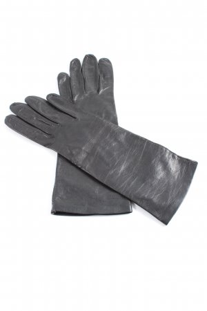 Reusch Faux Leather Gloves black casual look