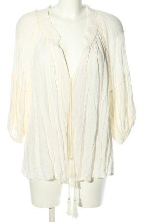 REVEL Marynarka koszulowa biały W stylu casual