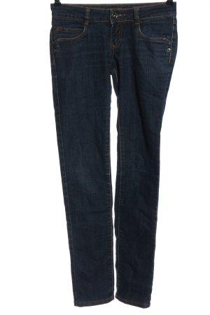 Revers Jeans Hüftjeans