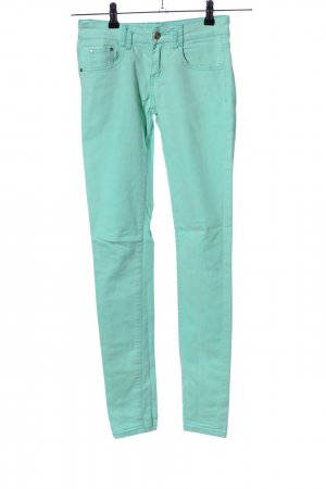 Reverse Jeans skinny turquoise style décontracté