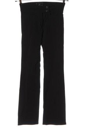 Reverse Pantalon en jersey noir style d'affaires