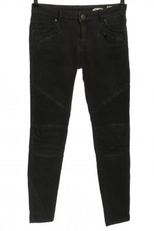 Review Biker Jeans black casual look