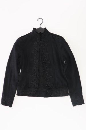 Review Blazer Größe 34 neuwertig schwarz aus Baumwolle
