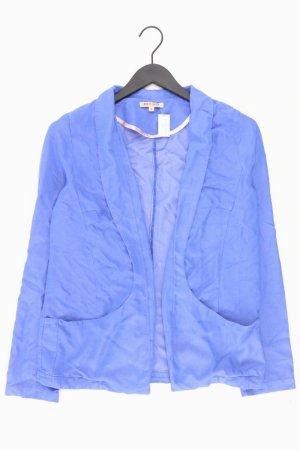 Review Blazer Größe M blau aus Viskose