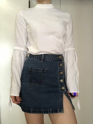 Review Camicia blusa bianco