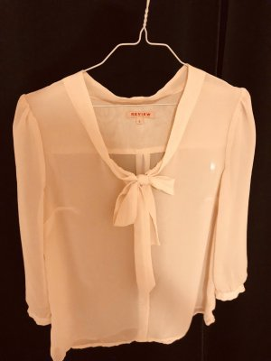 Review Bluse in Apricot - Größe S