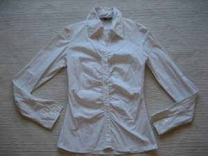 review bluse weiss gr. s 36