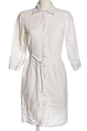 Review Sukienka koszulowa w kolorze białej wełny W stylu casual