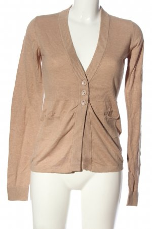 Review Cardigan creme meliert Casual-Look