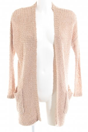 Review Cardigan nude Casual-Look