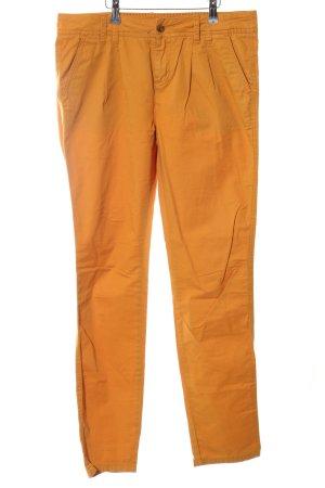 Review Cargo Pants light orange casual look