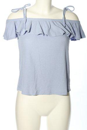 Review Carmen Shirt blue casual look