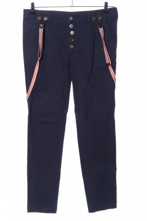 Review Chinohose blau-pink Casual-Look