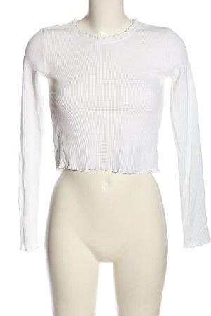 Review T-shirt court blanc style décontracté