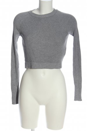 Review Cropped Shirt hellgrau Casual-Look