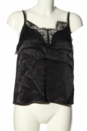 Review Cropped Top schwarz Casual-Look