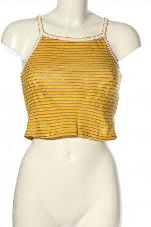 Review Cropped Top Streifenmuster Casual-Look