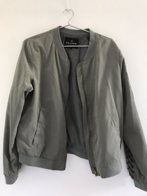 Review Bomber Jacket khaki