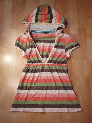 Review Camicia con cappuccio multicolore