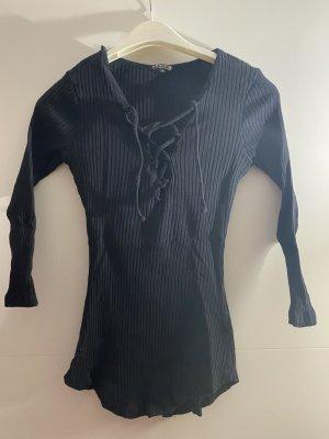 Review Ribbed Shirt black