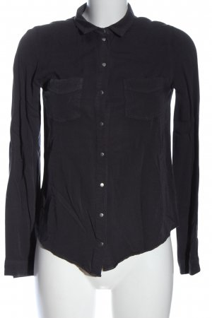 Review Hemd-Bluse schwarz Casual-Look