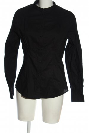 Review Hemd-Bluse schwarz Business-Look