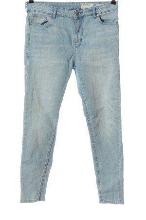 Review High Waist Jeans blau Casual-Look
