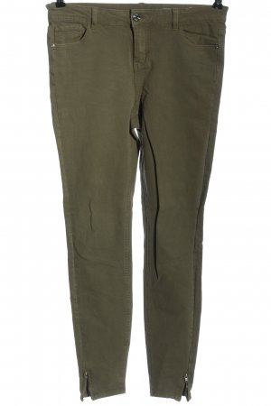 Review High Waist Jeans braun Casual-Look