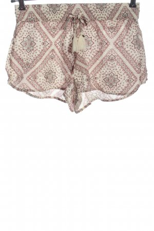 Review Hot pants stampa integrale stile casual