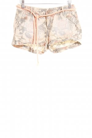 Review Hot Pants florales Muster Beach-Look