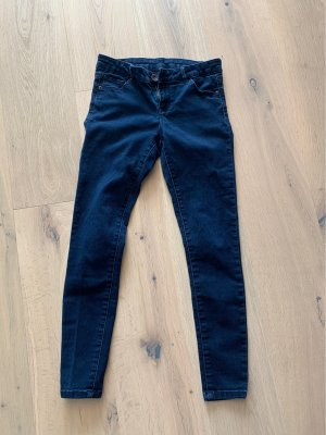 Review Tube jeans donkerblauw