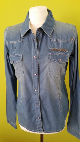 Review Jeans Bluse Hemd langarm