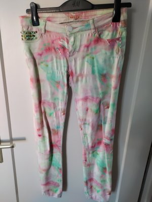 Review Stretch Jeans multicolored