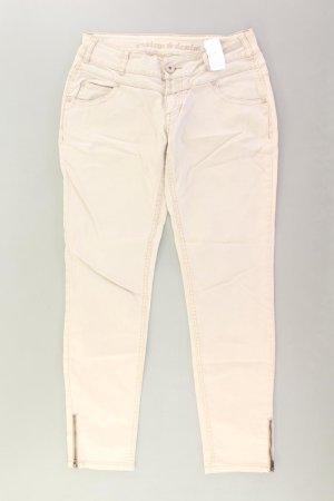 Review Jeans Größe W29 creme aus Baumwolle