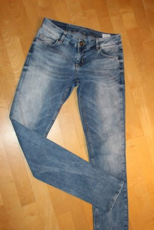 Review Jeans low rise Gr.  W27/L34 Midblue Susi