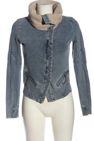 Review Jeansblazer blau Casual-Look