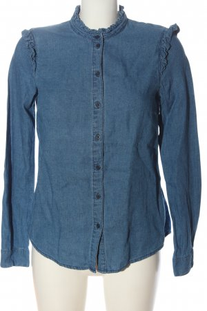 Review Jeansbluse blau Casual-Look