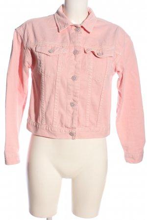 Review Jeansjacke pink Casual-Look