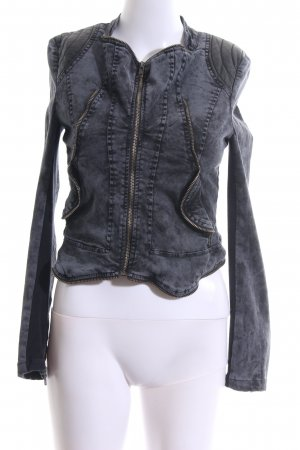 Review Jeansjacke hellgrau Casual-Look