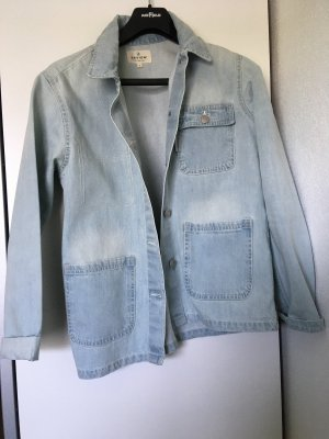 Review Jeansjacke hellblau