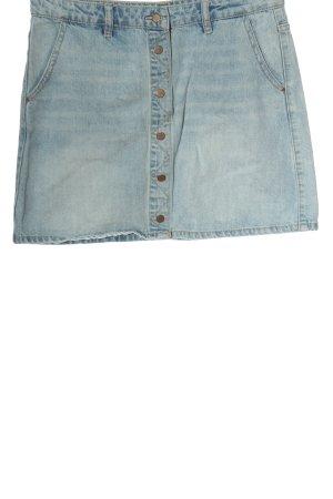 Review Jupe en jeans bleu style décontracté