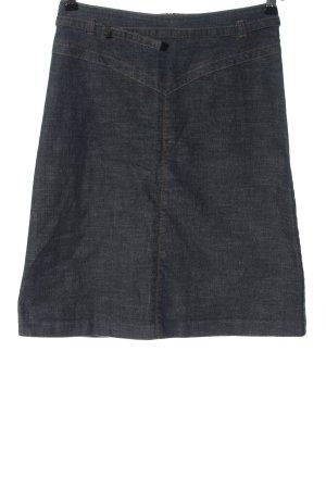 Review Denim Skirt blue casual look