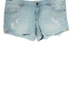 Review Jeansowe szorty niebieski W stylu casual