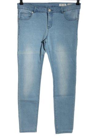 Review Jeggings blau Casual-Look